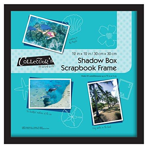MCS Shadow Box Frame Holds 12x12 Scrap Book Page (40950)