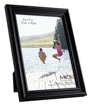 Load image into Gallery viewer, MCS Ten Piece Multi Pack Picture Frame Value Set - Black Stain - zingydecor