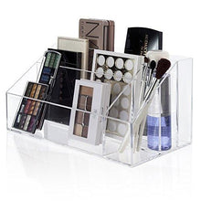 Load image into Gallery viewer, Large Capacity Premium Quality Plastic Makeup Palette Organizer