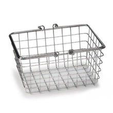 Load image into Gallery viewer, Spectrum Diversified Wire Storage Basket, Small, Chrome - zingydecor