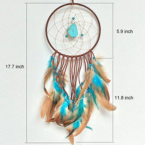 Ricdecor Indian Dream catcher Wind Chimes Feather Pendant wall hanging home decoration - zingydecor