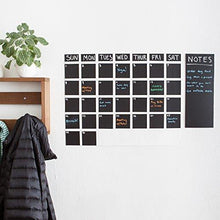 Load image into Gallery viewer, Colore Xtra Large Ultra-Durable Moveable Blackboard Chalkboard Contact Paper Wall Decals - 1 Roll - zingydecor