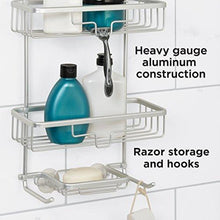 Load image into Gallery viewer, Zenna Home 7402AL, NeverRust Aluminum Shower Caddy, Satin Chrome - zingydecor