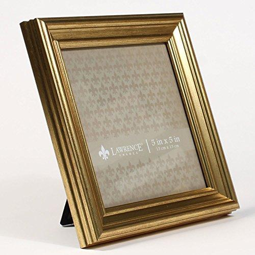5x5 Sutter Burnished Gold Picture Frame
