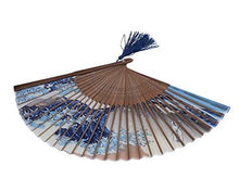 DawningView Japanese Handheld Folding Fan, with Traditional Japanese Ukiyo-e Art Prints (Great Wave Off Kanagawa)