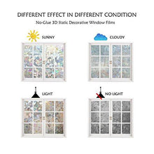 Load image into Gallery viewer, Window Film 3D Static Decorative Privacy Self-adhesive For UV Blocking Glass Sticker, 35.4x78.7 Inches - zingydecor