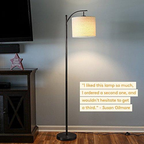 Brightech montage led floor lamp classic arc floor lamp with brightech montage led floor lamp classic arc floor lamp with hanging lamp shade tall mozeypictures Choice Image