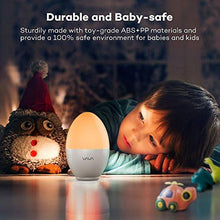 Load image into Gallery viewer, Night Lights for Kids, VAVA Baby Night Light, Bedside Lamp, Safe ABS+PP, Eye Caring LED, Adjustable Brightness and Color, Touch Control, IP65 Waterproof, 80 hours Runtime - zingydecor