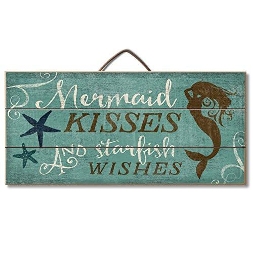 Highland Graphics Beach Decor Wood Sign Reads