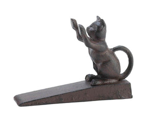 Home Locomotion Cat Scratching Door Stopper - zingydecor