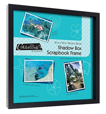 Image of MCS Shadow Box Frame Holds 12x12 Scrap Book Page (40950)