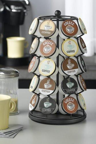 Image of K-Cup Carousel - Holds 35 K-Cups in Black