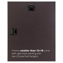 Load image into Gallery viewer, Craig Frames FM26WA1114C 1.26-Inch Wide Picture/Poster Frame in Smooth Grain Finish, 11 by 14-Inch - zingydecor