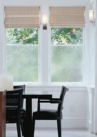 "Image of Decorative Self-Adhesive Window Film, Pearl, 17.71"" x 78"" Roll"