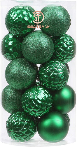41-Pack Christmas Ball Ornaments with Strings