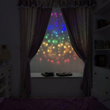 Load image into Gallery viewer, Fefelightup Rainbow Curtain Lights Fairy Lights Icicle Lights Fantasy Unicorn (Rainbow)