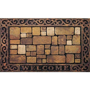Masterpiece Aberdeen Welcome Door Mat, 18-Inch by 30-Inch
