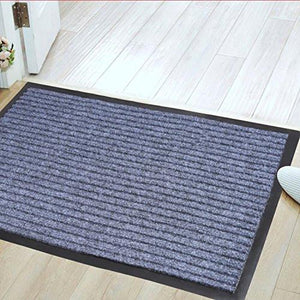 "Jinwen 122668 Entrance Rug Floor Mats Washable Indoor/Outdoor Low Profile Doormat Shoe Scraper Doormat (31.5""X20"")"