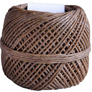 EricX Light 100% Organic Hemp Wick , 200 FT Spool, Well Coated With Natural BeesWax, Standard Size (1.0mm) - zingydecor