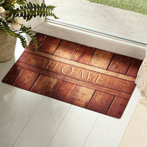 Amagabeli Rubber Indoor Doormat Rustic Entrance Welcome Mat Inside Shoe Scrap Washable Apartment Garage Front Porch Décor Office Foyer Hall Entryway Floor Mat Bedroom Carpet Home Kitchen Rug 18x30 - zingydecor