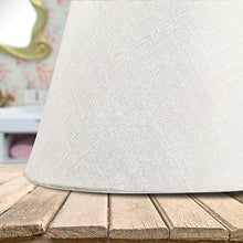 Load image into Gallery viewer, Lamp Shade IMISI Linen Fabric White Lamp Shade Small 7 x 5.3 x 9.3 inch (White)