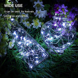 GDEALER 6 Pack Fairy String Lights 7.2ft 20LED Fairy Lights Battery Starry String Lights Copper Wire Lights Firefly Lights LED Moon Lights for DIY Dinner Party Decoration Costume Making Cool White