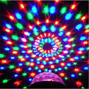 TTF 3W Led Disco Lights with Sound Activated,DJ Stage Lights for Xmas, Party, Decoration, Birthday, Wedding, Ballroom, Bedroom, KTV, Bar, Outdoor, Club, Event and More (with Remote Control)