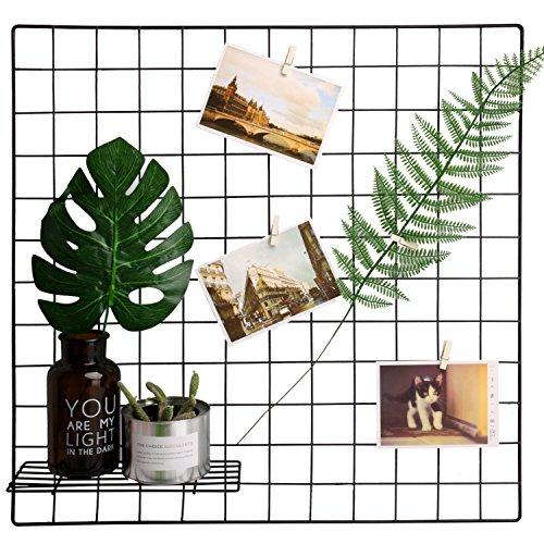 Hosal Multifunction Grid Panel,Wall Decor/ Photo Wall/ Wall Art Display/ Organizer, Size:23.6