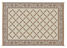 Load image into Gallery viewer, Reversible Mat Brown & Beige Patio (9' x 12') - zingydecor