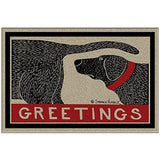 Humorous Dog Sniffing Welcome Doormat Offers Unique Greeting To Your Guests