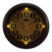La Crosse Technology 403-3246BR 18 in in/Out Lighted Bronze Wall Clock
