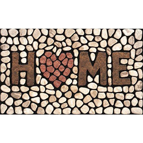 Masterpiece Home Stones Door Mat, 18-Inch by 30-Inch - zingydecor