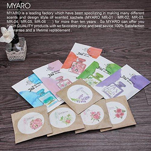 MYARO MR-01 12 Packs Lavender Scented Sachets for Drawer and Closet Best Gift - zingydecor