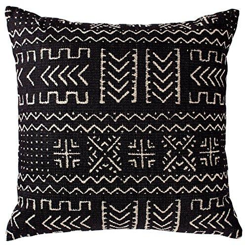 Rivet Mudcloth-Inspired Pillow, 17