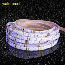 Load image into Gallery viewer, MINGER LED Strip Light Waterproof 16.4ft RGB SMD 5050 LED Rope Lighting Color Changing Full Kit with 44-keys IR Remote Controller, Power Supply Led Strip Lights for Home Kitchen Bed Room Decoration - zingydecor