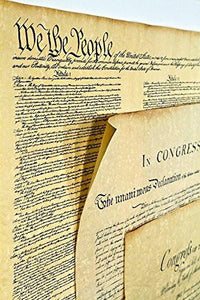Declaration of Independence 23 X 29, Constitution of the U.S. 23 X 29, Bill of Rights 23 X 29 Posters Shipped in Mailing Tube - zingydecor