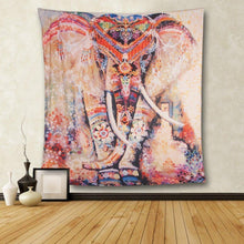 Load image into Gallery viewer, CHICVITA Elephant Tapestry Wall Hanging Decor Indian Home Hippie Bohemian Tapestry for Dorms - zingydecor