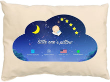 Load image into Gallery viewer, Little One's Pillow - Toddler Pillow, Delicate Organic Cotton, Hand-Crafted in USA (13 in x 18 in) - zingydecor