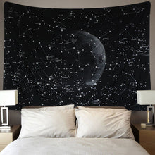 "Load image into Gallery viewer, Mandala Tapestry Wall Tapestry Bohemian Wall Hanging Tapestries Wall Blanket Wall Art Wall Decor Beach Tapestry Sunset Tapestry Indian Wall Decor (51.2"" x 59.1"", Moon Constellations) - zingydecor"