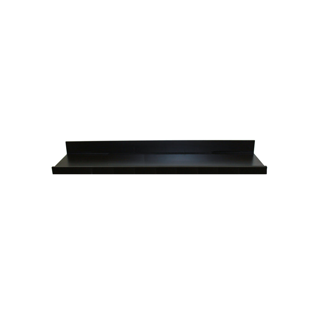 InPlace Shelving 9084680 Picture Ledge Floating Shelf, 36-Inch Long, Black
