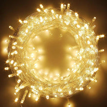 Load image into Gallery viewer, Twinkle Star 66FT 200 LED Indoor String Lights Warm White, Plug In String Lights 8 Modes Waterproof for Outdoor Christmas Wedding Party Bedroom