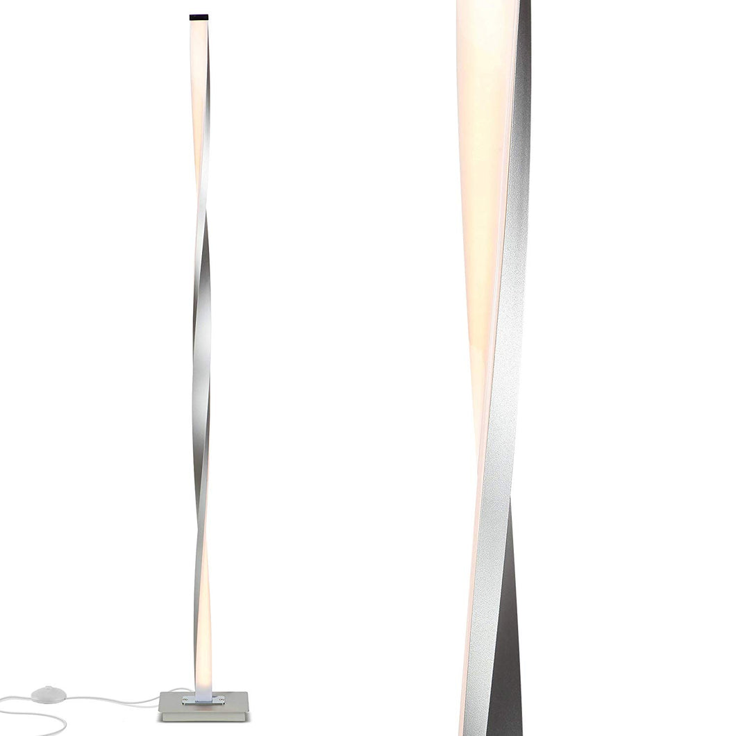 Helix Modern LED Floor Lamp for Living Room Bright Lighting - Get Compliments: Unique, 48