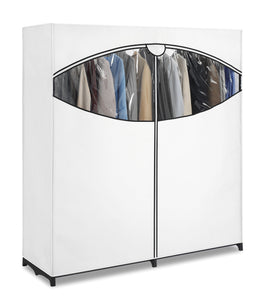 "Whitmor Extra-Wide Clothes Closet, 60"" - zingydecor"
