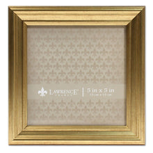 5x5 Sutter Burnished Gold Picture Frame - zingydecor