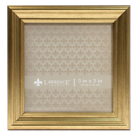 Image of 5x5 Sutter Burnished Gold Picture Frame