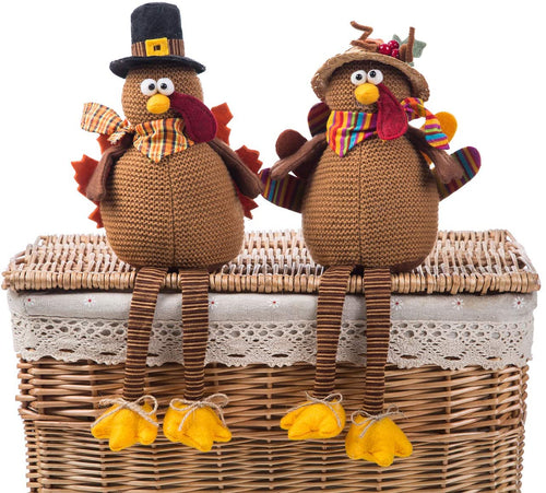 Turkey Couple Dolls 2 Pack