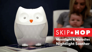 Skip Hop Moonlight and Melodies Nightlight Soother, Owl - zingydecor