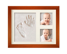 Load image into Gallery viewer, BEST BABY HAND & FOOTPRINT PICTURE FRAME KIT for Boys and Girls, Cool & Unique Baby Shower Gifts... - zingydecor