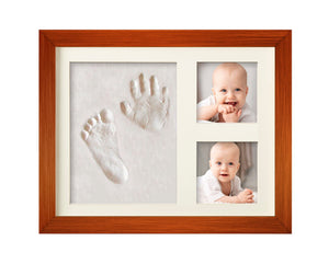 BEST BABY HAND & FOOTPRINT PICTURE FRAME KIT for Boys and Girls, Cool & Unique Baby Shower Gifts... - zingydecor