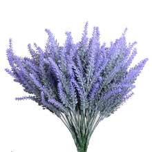 Load image into Gallery viewer, Artificial Flowers Lavender Bouquet in Purple Artificial plant for Home Decor, Wedding,Garden,Patio Decoration,4 Bundles - zingydecor